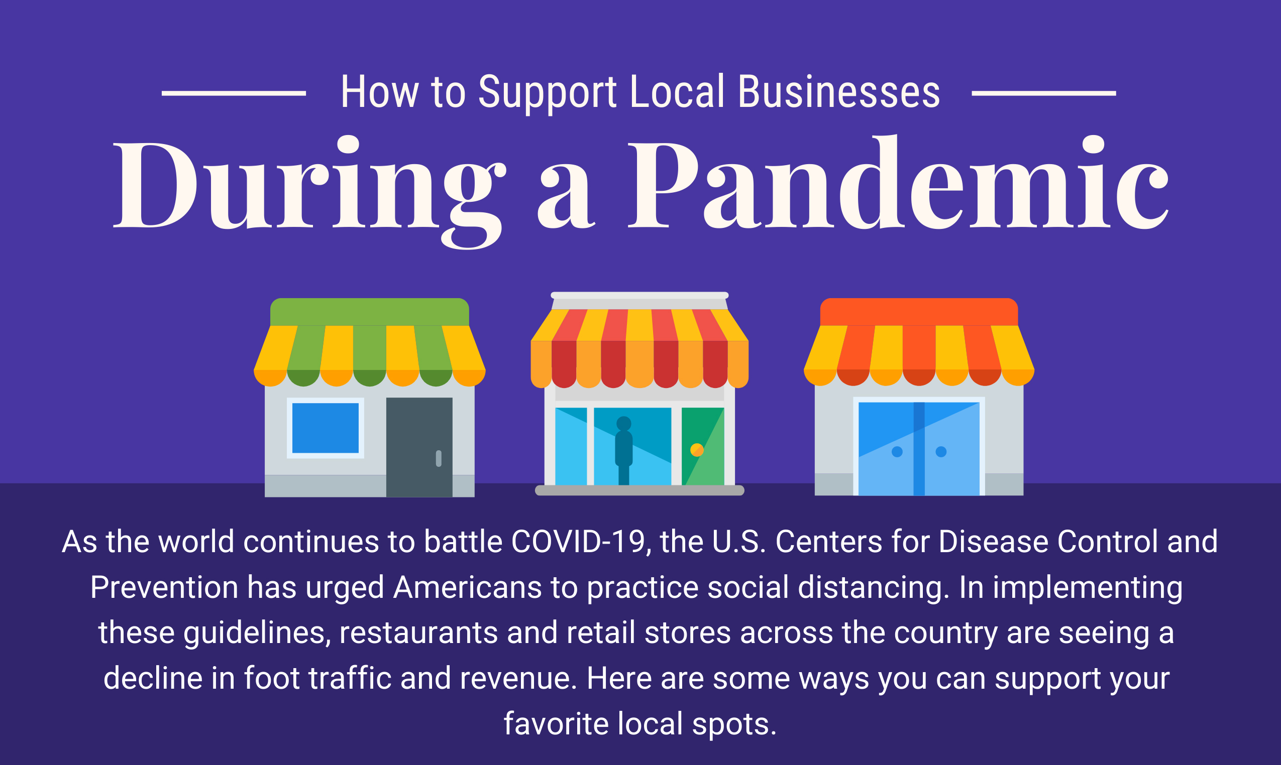 How to Support Local Businesses During a Pandemic